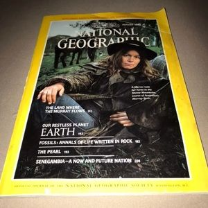 National Geographic August 1985 Issue
